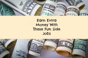 earn extra money with side jobs