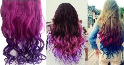 Highly rated pink to dark purple hair extension only 428 if you want that bright and colorful hair but dont want the chemicals and damage that comes with it hair extensions are a great alternative pmusecretfo Images