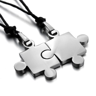 ecd24ec035 61IM0+8nfLL._UY395_ (1). Amazon has these super cute puzzle piece necklaces  ...