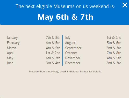 freebies2deals-museumsschedule