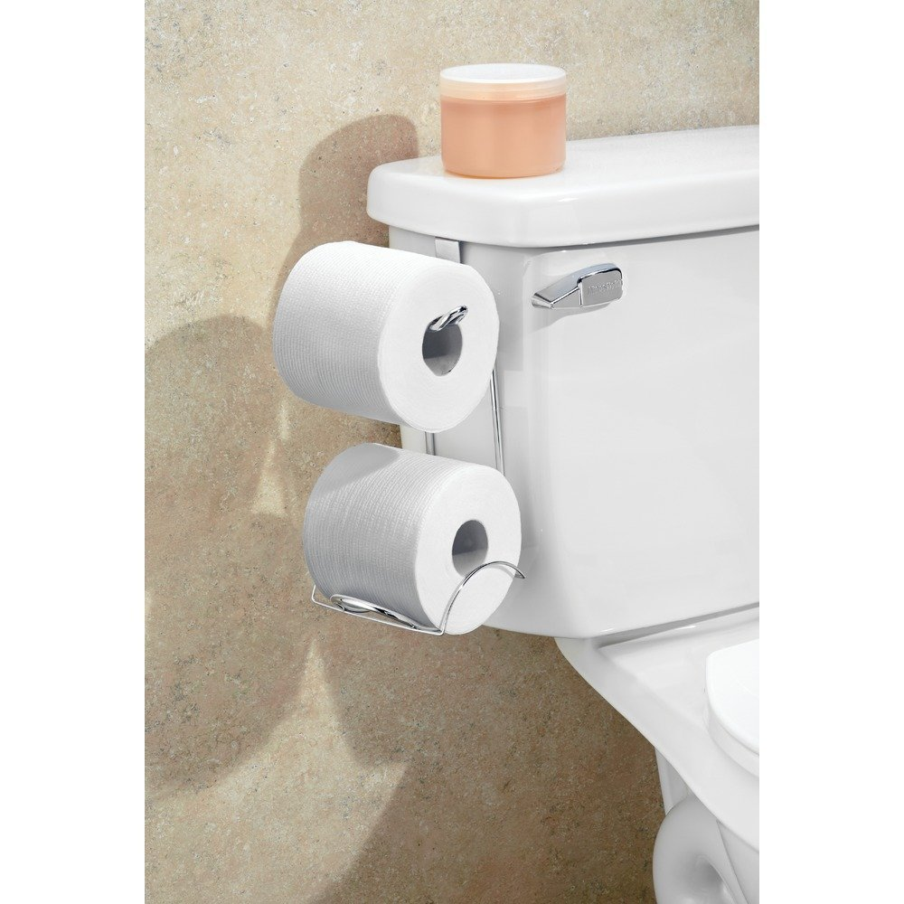 Interdesign classico toilet paper holder for bathroom storage only freebies2deals - Interdesign toilet paper holder ...