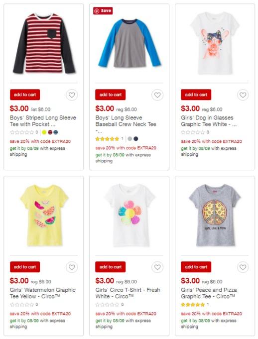 2e7891fcf9e97 screenshot-www.target.com 2016-08-05 19-03-. Target has kids' Circo tees ...