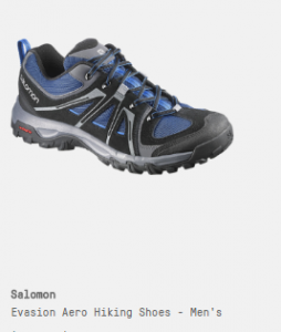 soloman hiking shoes
