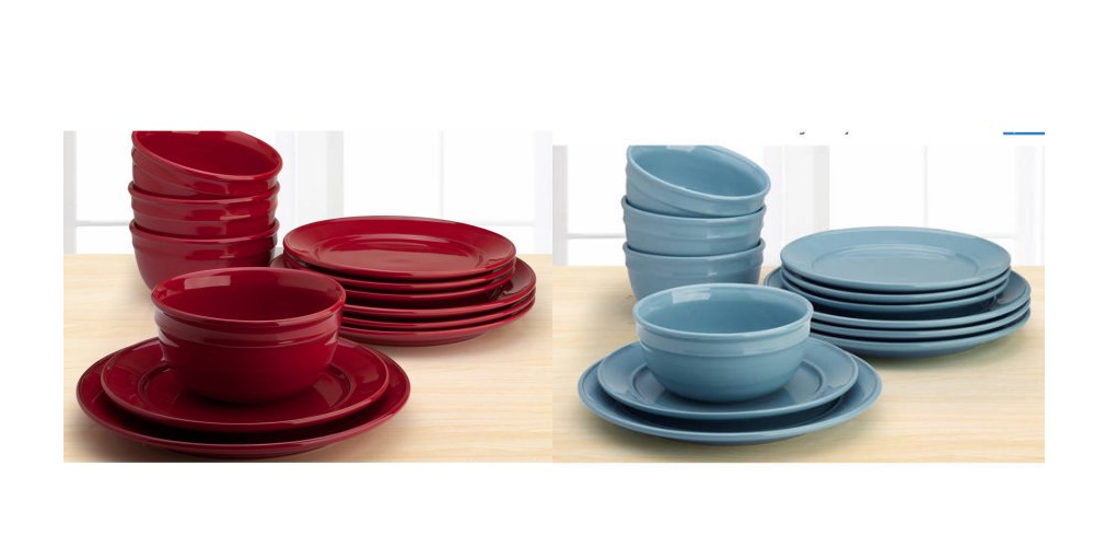 Wal-Mart has the Amelia 12-pc stoneware solid color dinnerware set marked down to only $17.88 right now! This is available in a few different colors ...  sc 1 st  Freebies2Deals & Freebies2Deals -