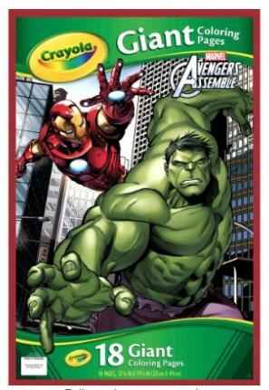 Amazon Crayola Avengers Assemble