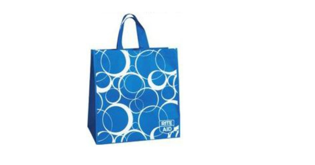 Free reusable shopping bag at rite aid freebies2deals