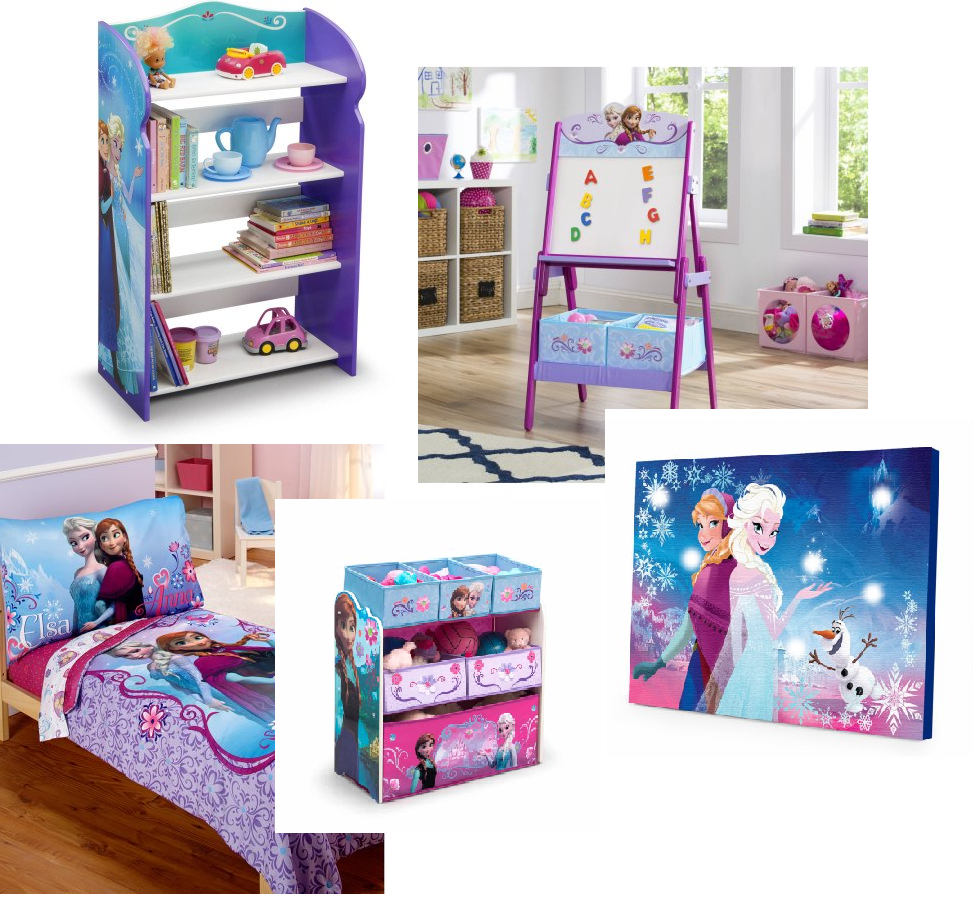 Frozen Room Decor Items Discount At Walmart! Bookcase Just