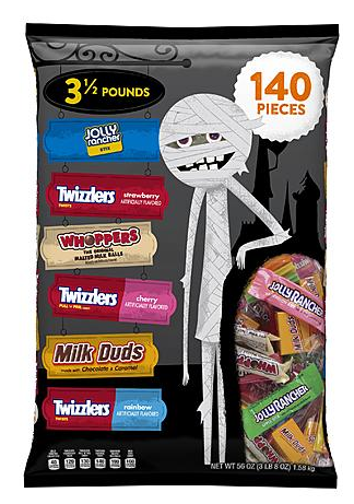 now is the time to grab your halloween candy kmart has a good selection of candy for 50 off one great option is to grab the 500 bags of halloween candy - Kmart Halloween