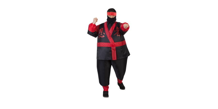 Inflatable Ninja Costume for Kids Only $14.68!! Free Store Pickup ...
