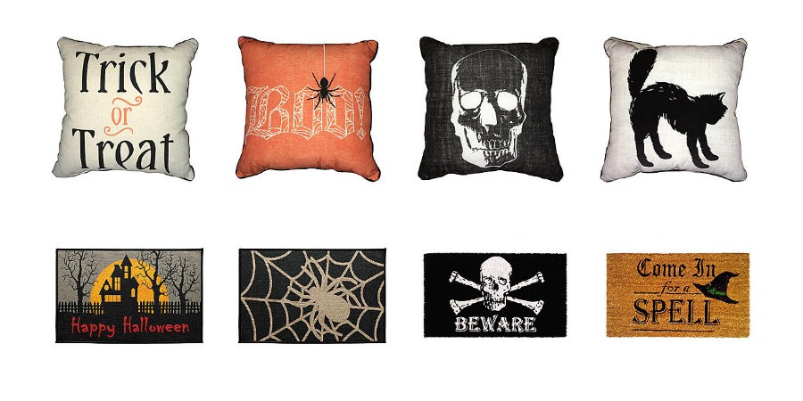 Halloween Doormats Only 4040 And Throw Pillows Just 404040 Classy Kmart Decorative Pillows