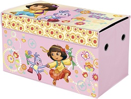 nickelodeon-dora-the-explorer-collapsible-storage-trunk
