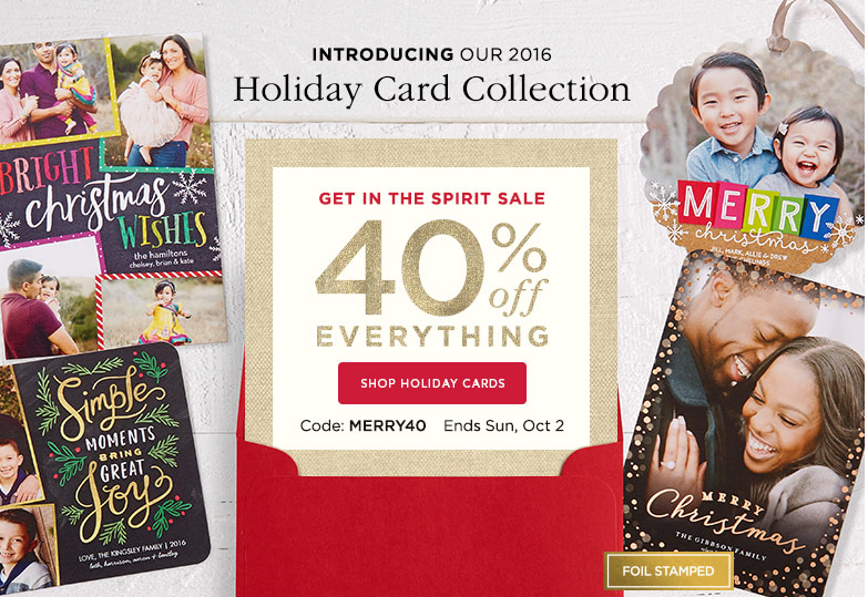 shutterfly - Shutterfly Holiday Cards