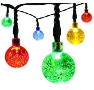amazon has the solar christmas string lights 30 led ball lights for only 550 reg 20 just enter promo code 3mit92fa at checkout - Solar Christmas Lights Amazon