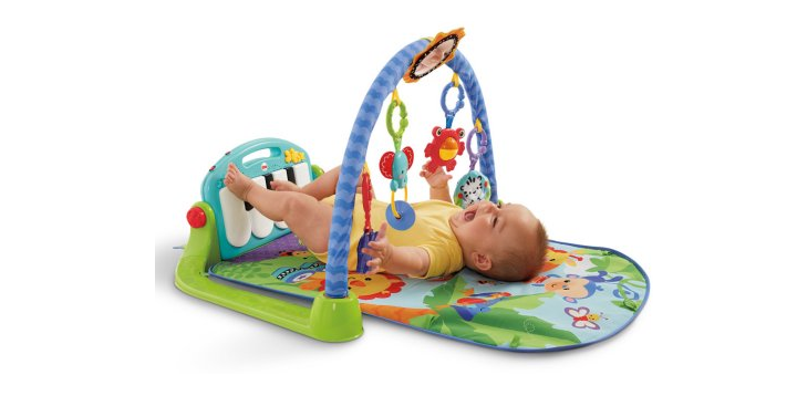 Fisher-Price Kick 'N' Play Piano Gym Only $28.46! (Reg. $44.89) - Freebies2Deals