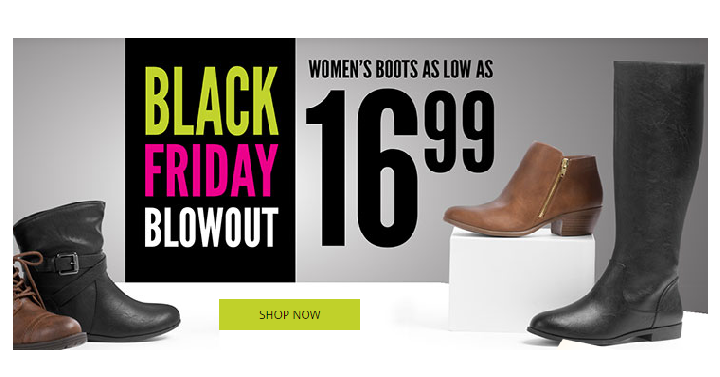 payless shoes black friday blowout s boots only