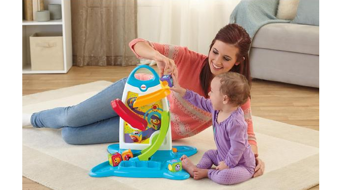 Fisher Price Roller Blocks Play Wall Only 14 32 After