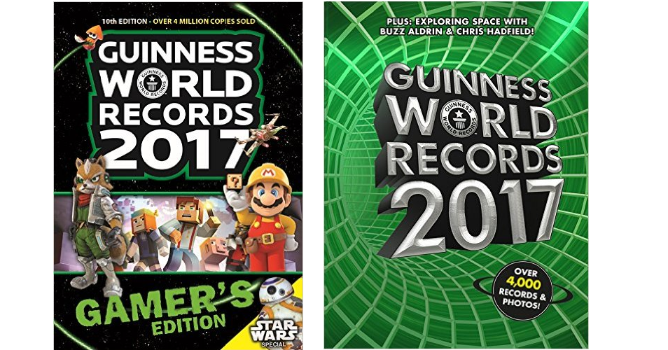 Guinness world records 2017 books starting at 988 lowest prices freebies2deals worldrecords ccuart Gallery