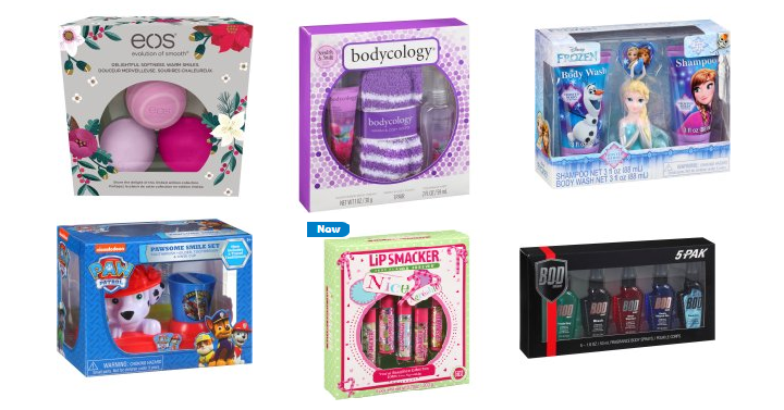 Hot walmart beauty holiday gift sets for only each