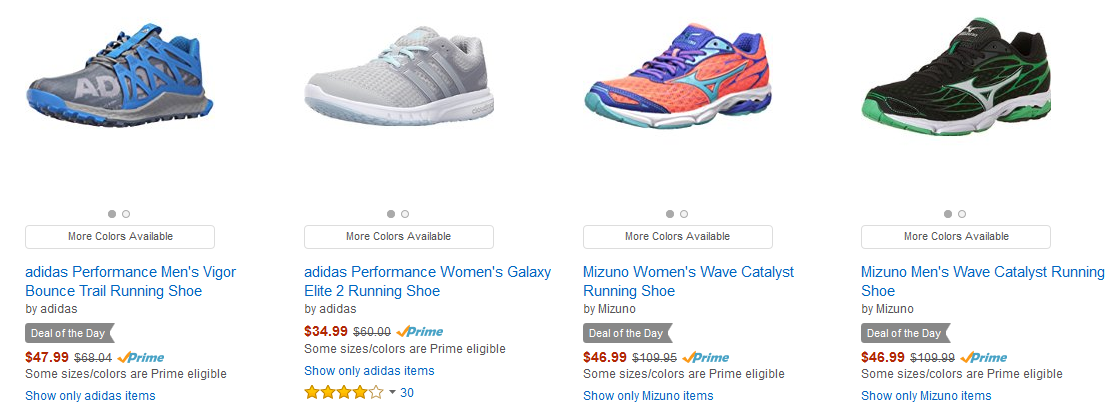 5dbcbeeaac13e Up to 50% Off Athletic Shoes! Prices start at $17.99! Amazon Cyber ...