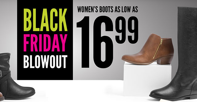 Payless Shoes Black Friday! CUTE Boots