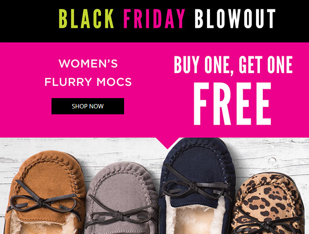 Black Friday Deal For Payless Shoes
