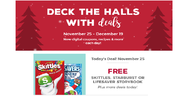 now through december 19th kroger stores like smiths are are having a deck the halls with deals promotion where you can get new digital coupon or recipe