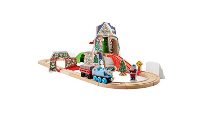 Amazon Exclusive- Fisher-Price Thomas the Train Wooden Railway Santa's ...
