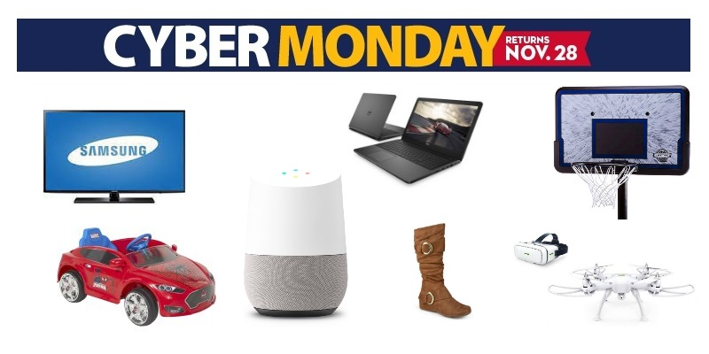 heads up wal mart cyber monday deals start tonight freebies2deals. Black Bedroom Furniture Sets. Home Design Ideas