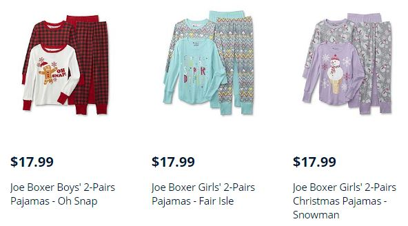 85148a6407 Kmart: Buy 1 Get 1 FREE On Sleepwear For The Whole Family ...