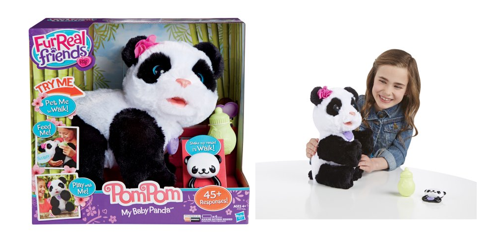 how to make a panda pom pom