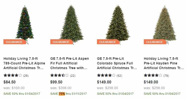 WOW! Christmas Clearance at Lowe's! Already 75% OFF! - Freebies2Deals