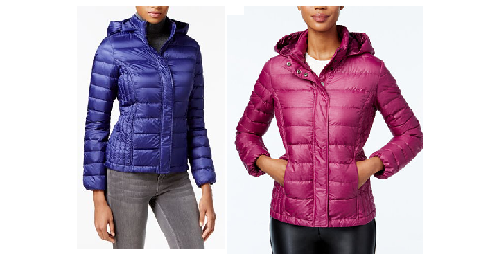 25dbbea0e55f6 Macy s has the 32 Degrees Packable Hooded Puffer Coat on sale for  69.99.  But use coupon code FRIEND to save 30% off and drop it to only  48.99! (Reg.
