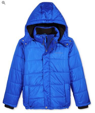 acb767e0ec93 Calvin Klein Boys  Eclipse Hooded Puffer Jacket - Only  29.99! (Reg ...