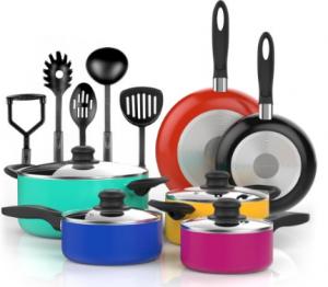 color pop cookware set