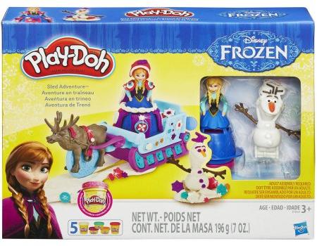 frozen play doh