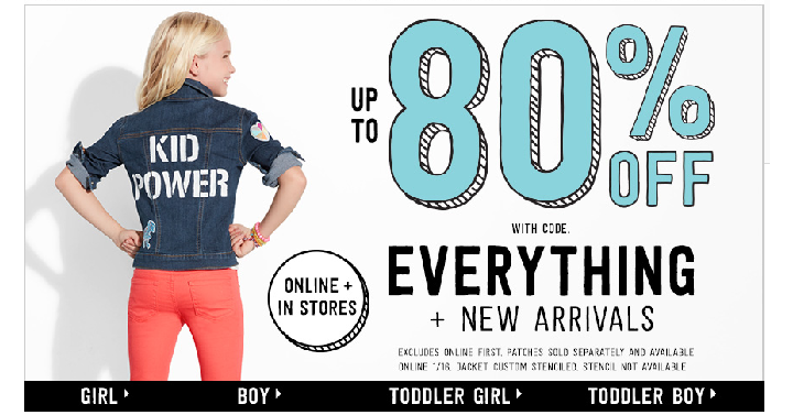 HOT! RUN! Crazy 8: Take up to 80% off + FREE Shipping! PJs Only $4.18, Active Shorts Only $2.98, Rompers Only $4.18 Shipped and More! - Deals & Coupons