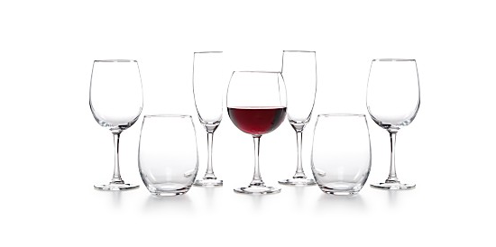 macys glassware