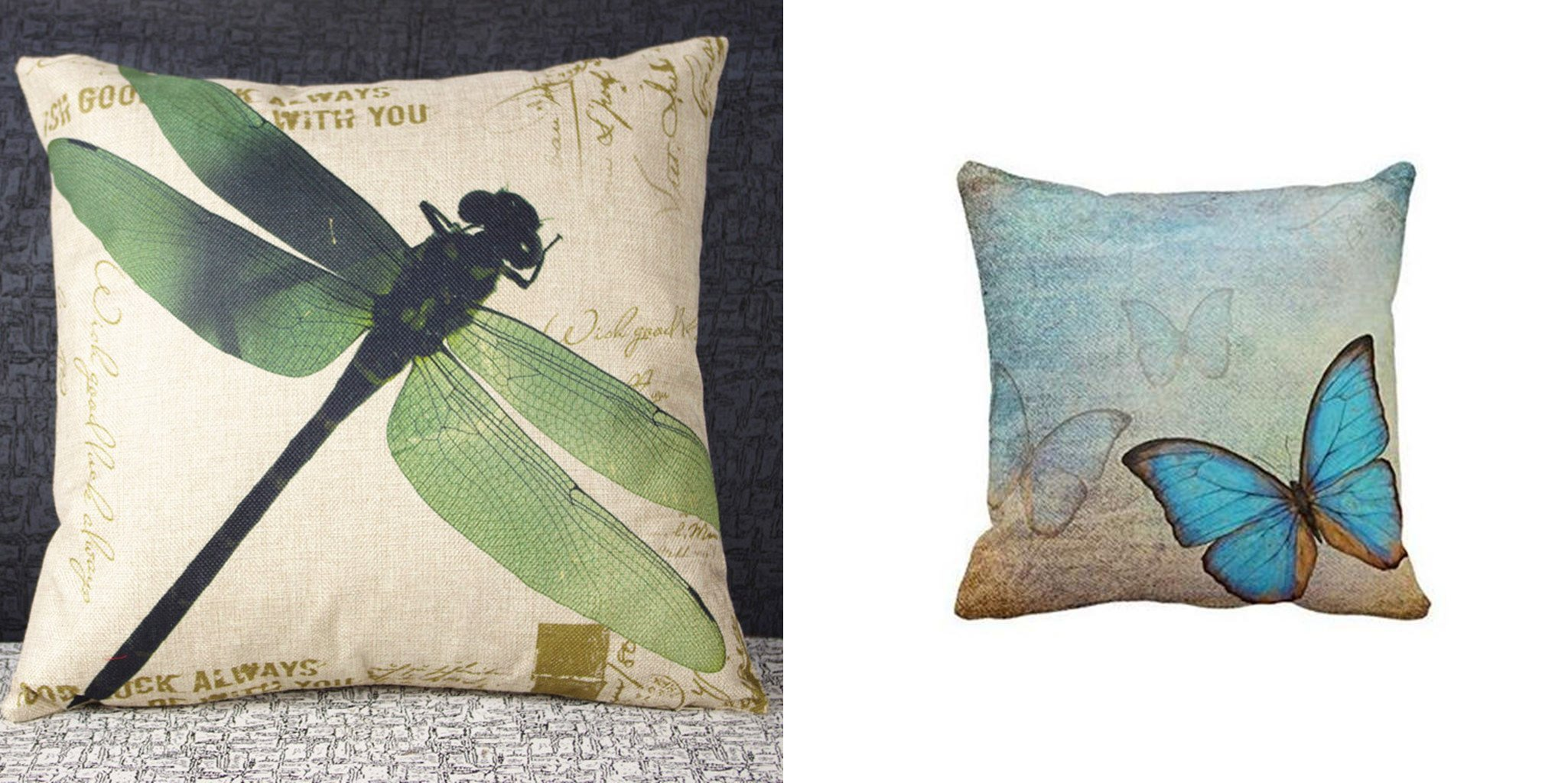 nature pillow covers