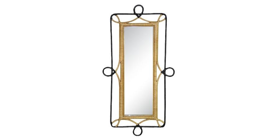 rattan-mirror