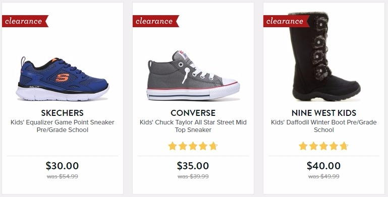 Bogo 50 Off Clearance At Famous Footwear Freebies2deals