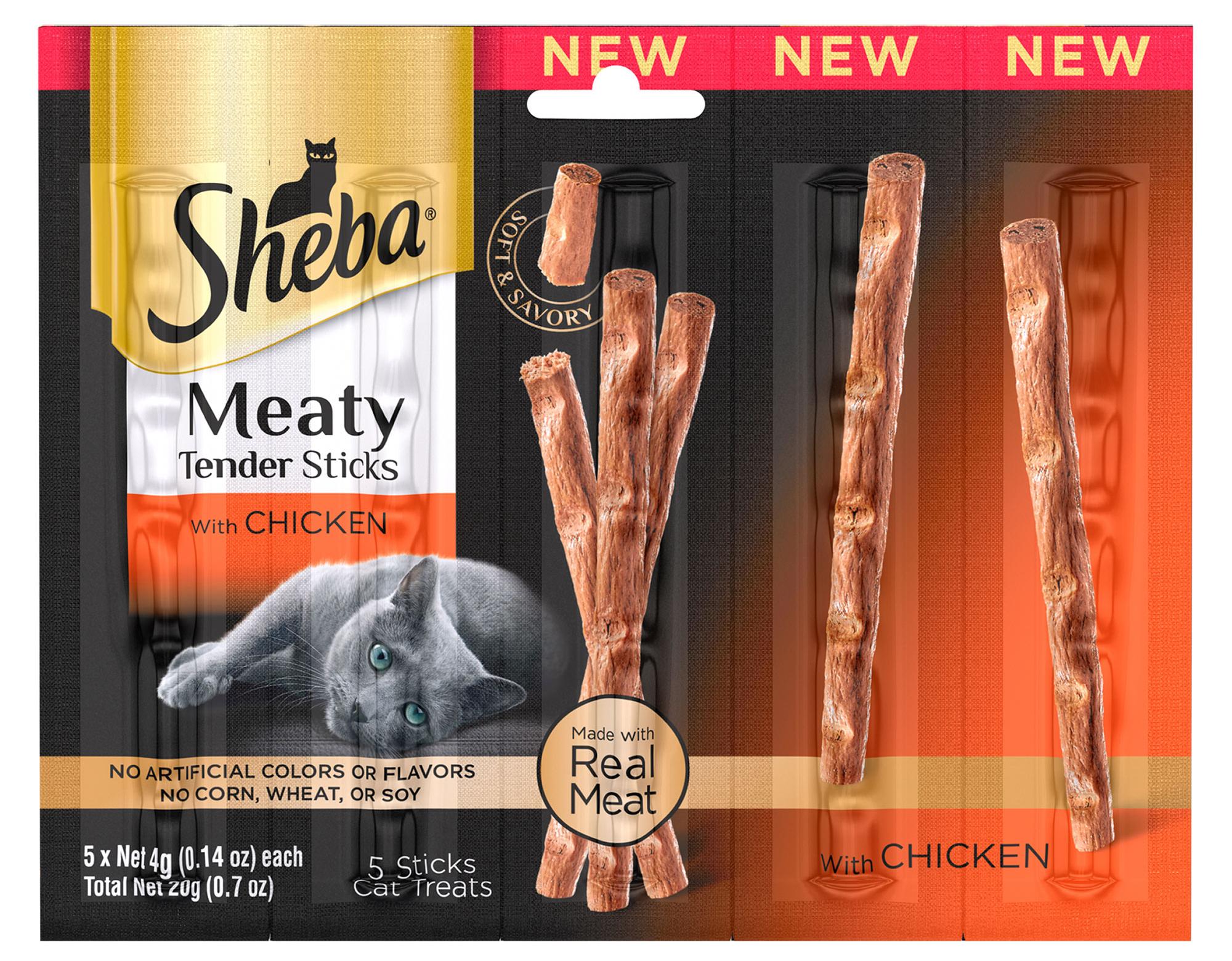 sheba meaty sticks