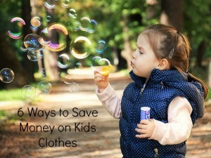 6 ways to save on kids clothes