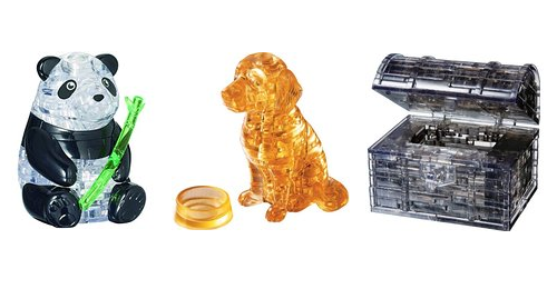 3d crystal puzzles starting at 7 99 on amazon freebies2deals