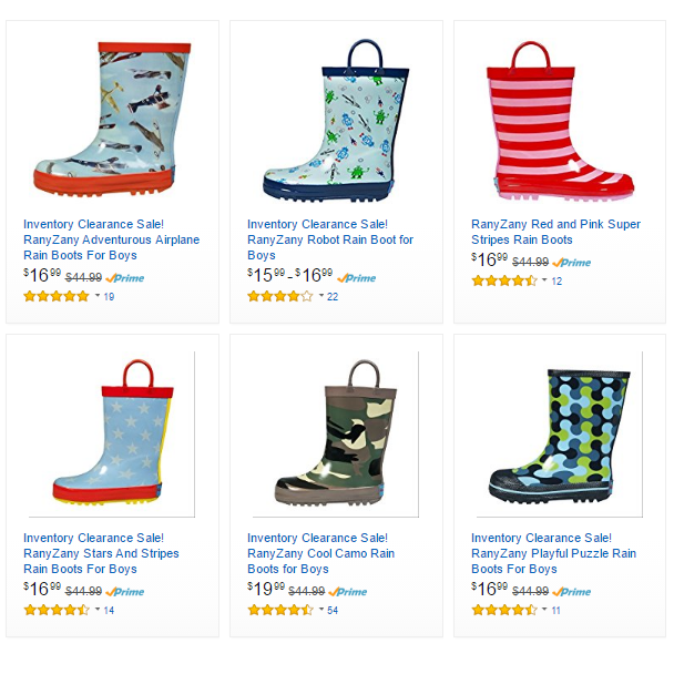freebies2deals-rainboots