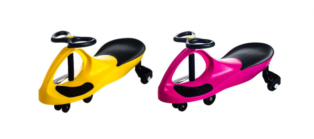 Lil Rider Wiggle Ride-On Pink or Yellow Just $24.99! (Reg. $39.99) - Deals & Coupons