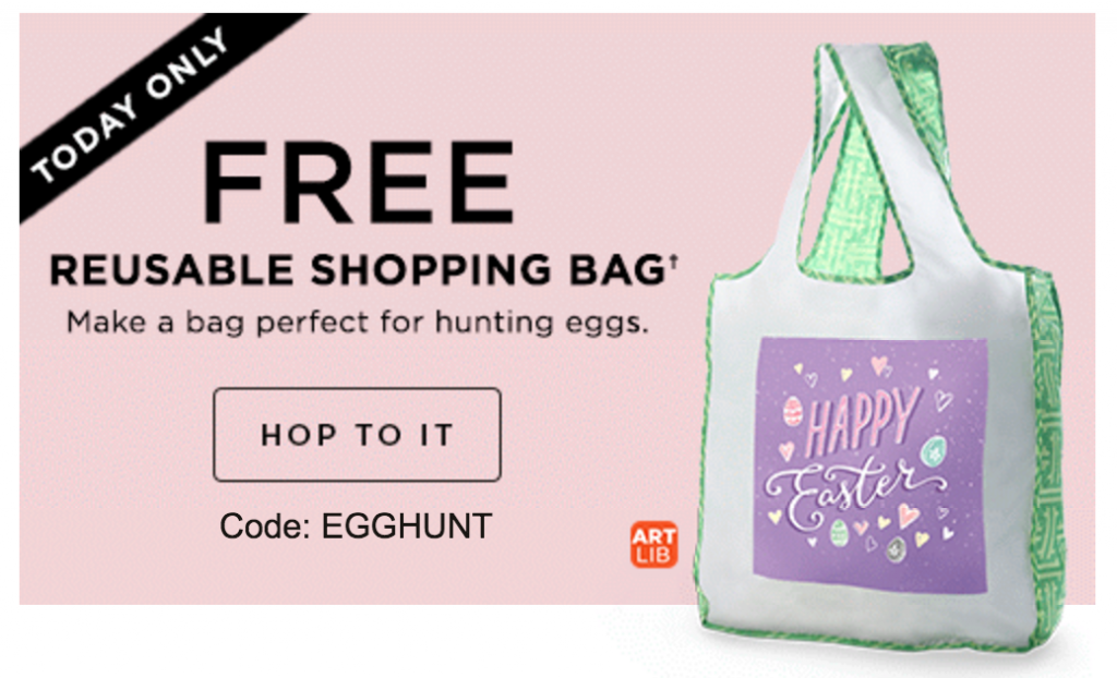 FREE Reusable Shopping Bag Today Only At Shutterfly! - Deals & Coupons