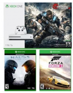 Xbox One S 1TB Console  Gears of War 4 Bundle with 2 Additional Games Just $249.99! - Deals & Coupons