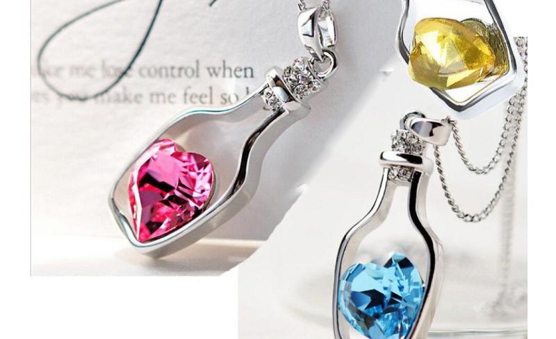 bottle necklace