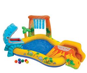 intex dino play center