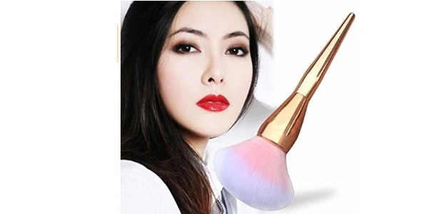kabuki pink face brush